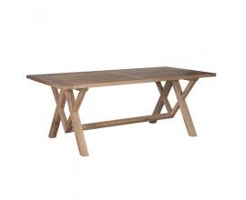 Masívny jedálenský stôl Rustic Oak