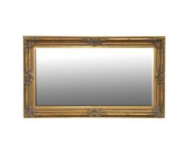 Barokové nástenné zrkadlo Roi Gilt v zlatej farbe 215cm