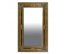 Barokové nástenné zrkadlo Roi Gilt so zlatým rámom235cm