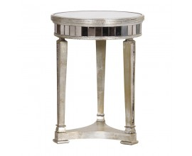 Luxusný zrkadlový príručný stolík Granada Old