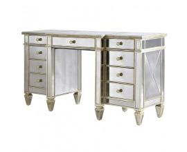 Luxusný zrkadlový písací stôl Granada Old
