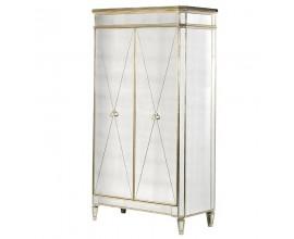 Art-deco zrkadlová luxusná skriňa Granada Old 210cm