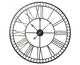 Dizajnové kovové hodiny GOLD