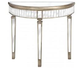 Luxusný zrkadlový toaletný stolík BELFRY