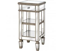 Luxusný zrkadlový príručný stolík BELFRY