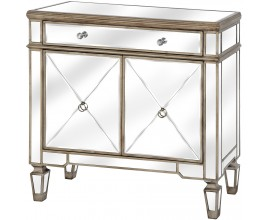 Luxusný dvojdverový zrkadlový príborník BELFRY