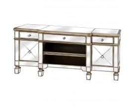 Luxusný zrkadlový TV stolík BELFRY