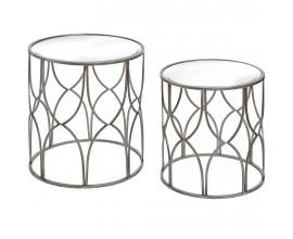 Štýlový set Art-Deco príručných stolíkov LADO 2ks
