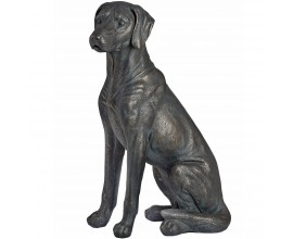 Štýlová sediaca socha PES 65cm