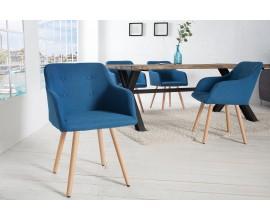 Štýlová stolička Scandinavia modrá