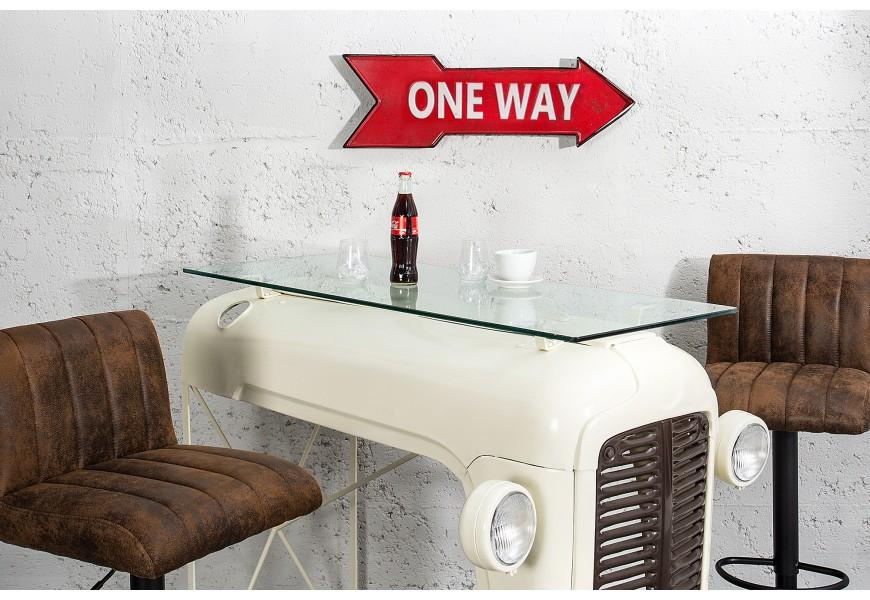 Štýlová dekoračná šípka One Way 55cm