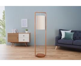 Dizajnová stojaca lampa Scandinacia natur