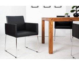 Luxusná stolička Bari čierne