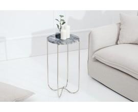 Dizajnový mramorový odkladací stolík Jaspe