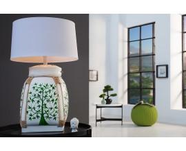 Štýlová stolná lampa Bamboo