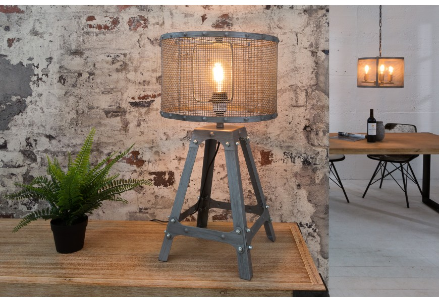 Štýlová stolná lampa Loft 60cm
