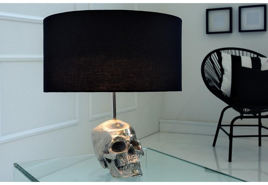 Luxusná stolná lampa Lebka