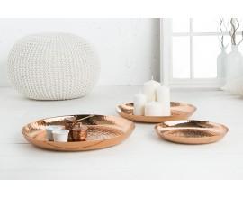 Set dizajnových dekoratívnych medených misiek Orient