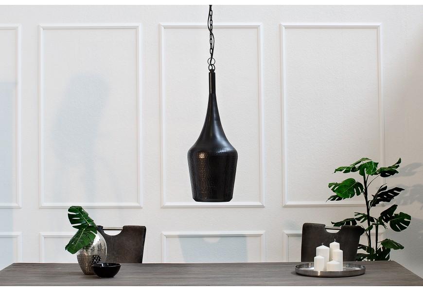 Závesná dizajnová lampa Modern Orient čierna
