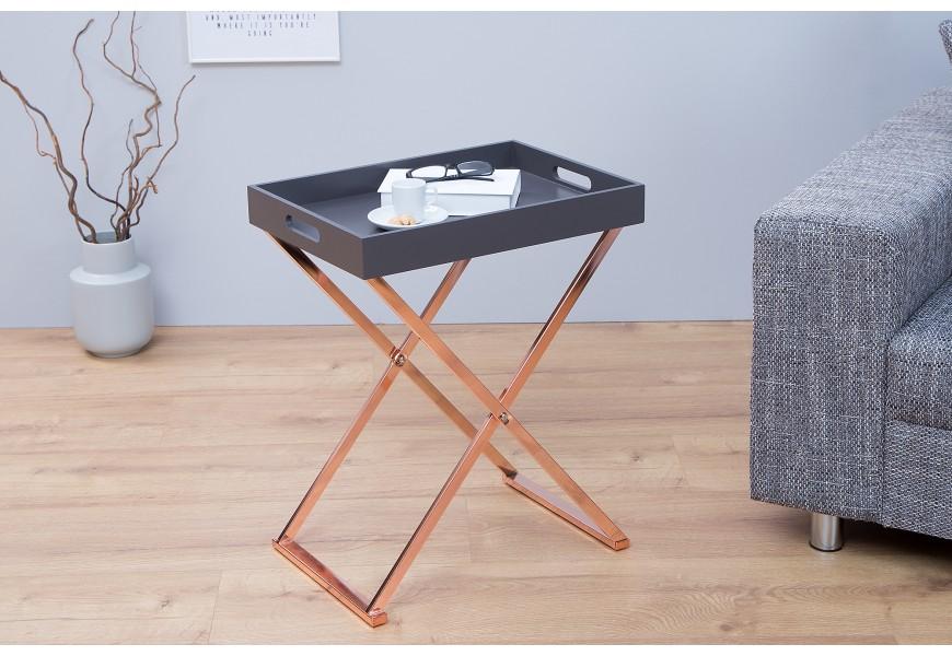 Dizajnový príručný stolík Valet