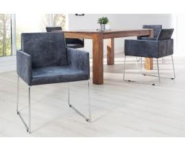 Elegantná moderná stolička Bari sivá II