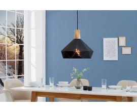 Dizajnová závesná lampa Scandinavia II čierna