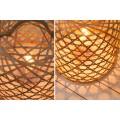Štýlová stolná lampa Bamboo kôš 45cm