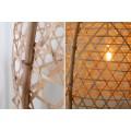 Štýlová závesná lampa Bamboo 60cm