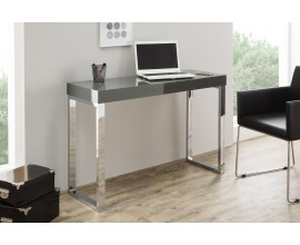 Luxusný jedinečný pracovný stôl Laptop sivá