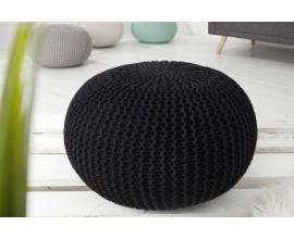 Dizajnová moderná taburetka Stool 50cm čierna