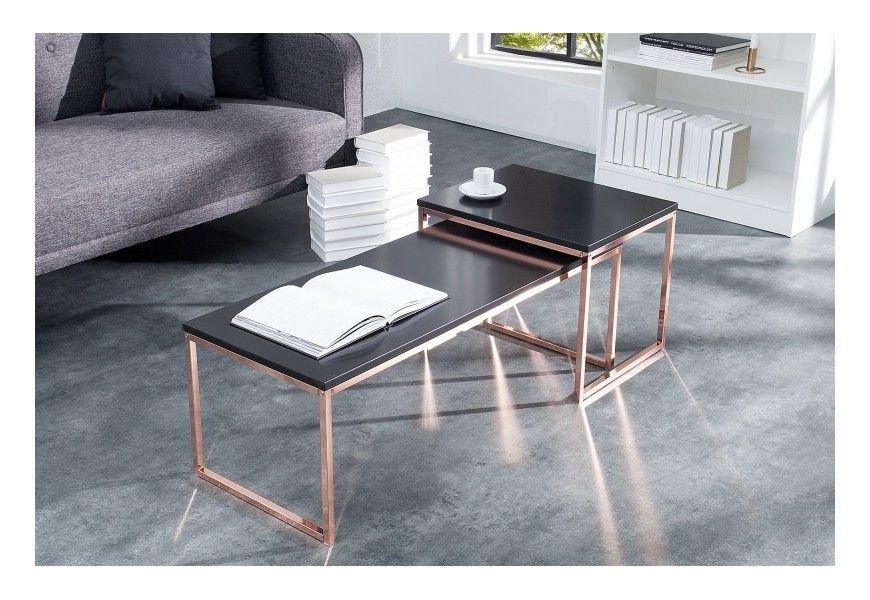 Set konferenčných stolíkov do moderných interiérov Nobile