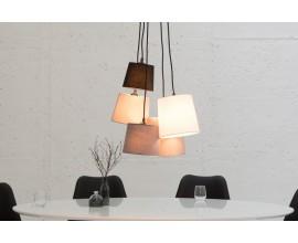 Dizajnová závesná lampa Levels
