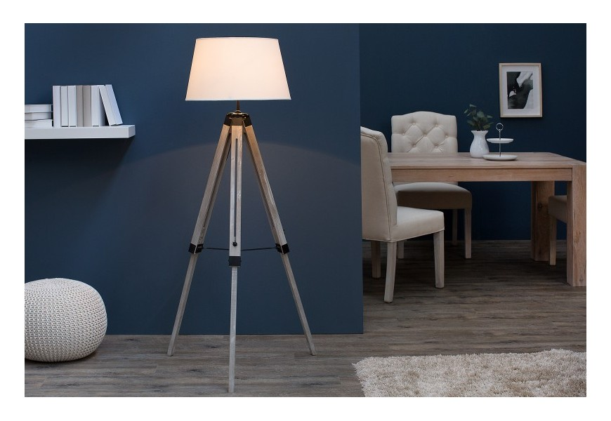 Dizajnová elegantná stojaca lampa Sylt 99-143cm