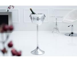 Luxusný stojan na šampanské 75cm strieborný