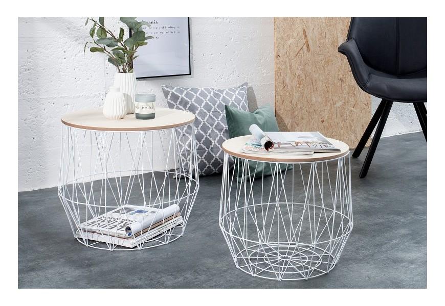 Moderné odkladacie stolíky s praktickým úložným priestorom