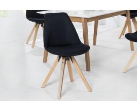 Dizajnová stolička Scandinavia čierna