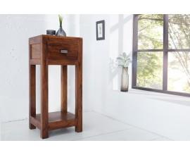 Štýlový príručný stolík Akacia 70cm akácia