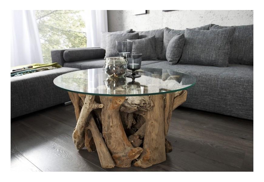 Dizajnový konferenčný stolík Nature Lounge 60cm