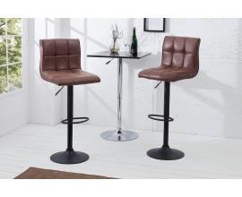 Dizajnová barová stolička Modena 95-115cm vintage brown