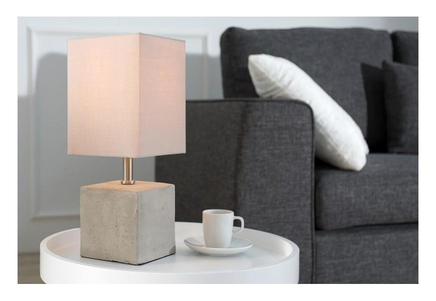 Dizajnová stolná lampa Cement Collection 35cm