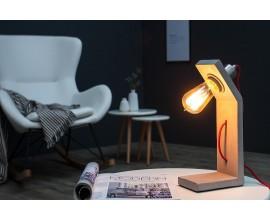 Dizajnová stolná lampa Cement Structure 30cm