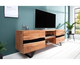 Dizajnový masívny TV stolík Amazonas 160cm