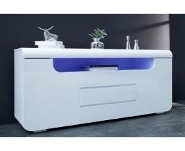 Dizajnová moderná komoda Ambience 150cm biela