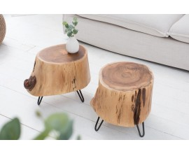 Dizajnový odkladací stolík Terra 35cm