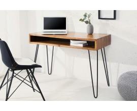 Dizajnový pracovný stôl Leeds 110cm Sheesham