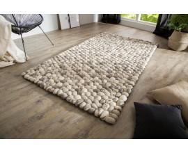 Štýlový koberec Organic 200x120cm šedý