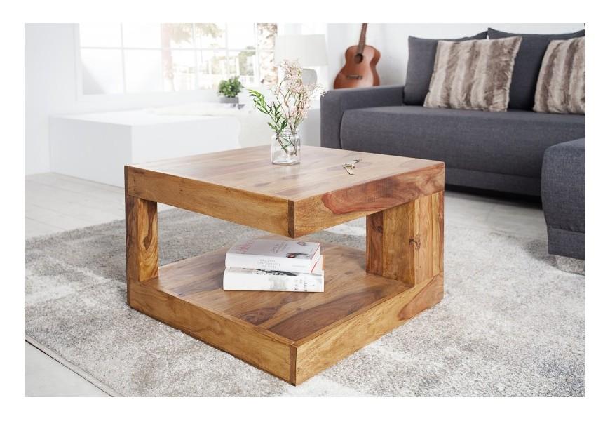 Konferenčný stolík z masívneho dreva Sheesham