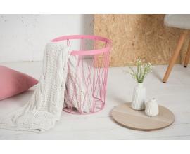 Dizajnový príručný stolík Storage II ružový