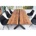 Dizajnový jedálenský stôl z masívu Amazonas 200cm
