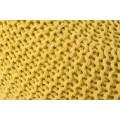 Dizajnová moderná taburetka Stool 50cm žltá